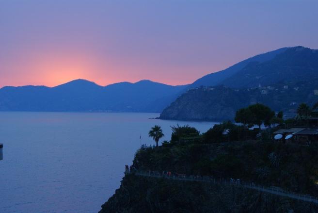 Sunset view from Mediterraneo 1, ArbaSpaa