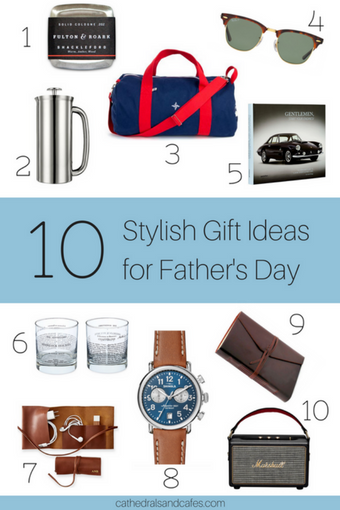 10 stylish fathers day gift ideas