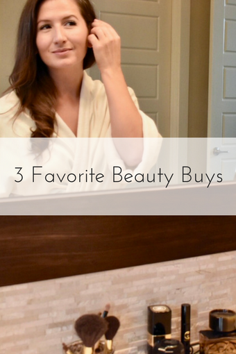 3 Favorite Beauty Buys - Haircare -Skincare - Beauty Blog - Beauty Blogger - Cathedrals and Cafes Blog