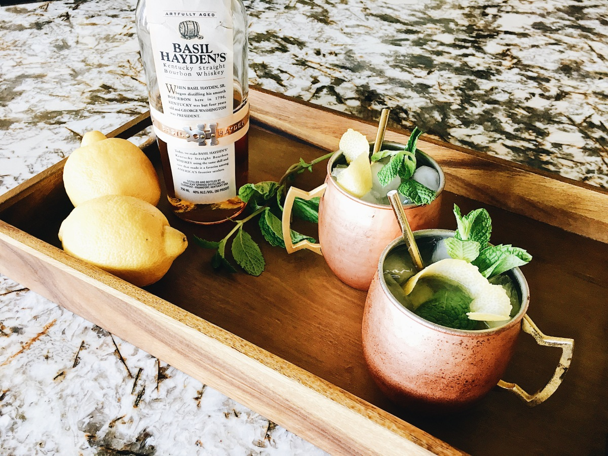 Kentucky Derby Cocktail Recipe: Basil Hayden's Mint Julep Lemonade