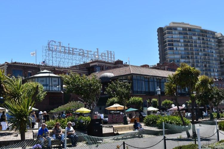 Ghirardelli Square in San Francisco California