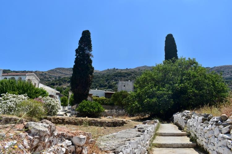 The beautiful rugged terrain of Filoti, Naxos Greece