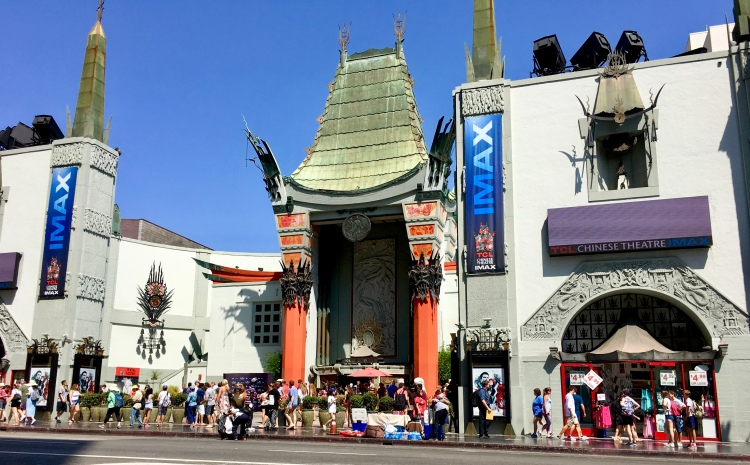 The entrance to Grauman's Chinese Theater in Los Angeles