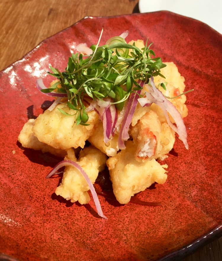 King crab tempura, Nobu restaurant, Malibu, California