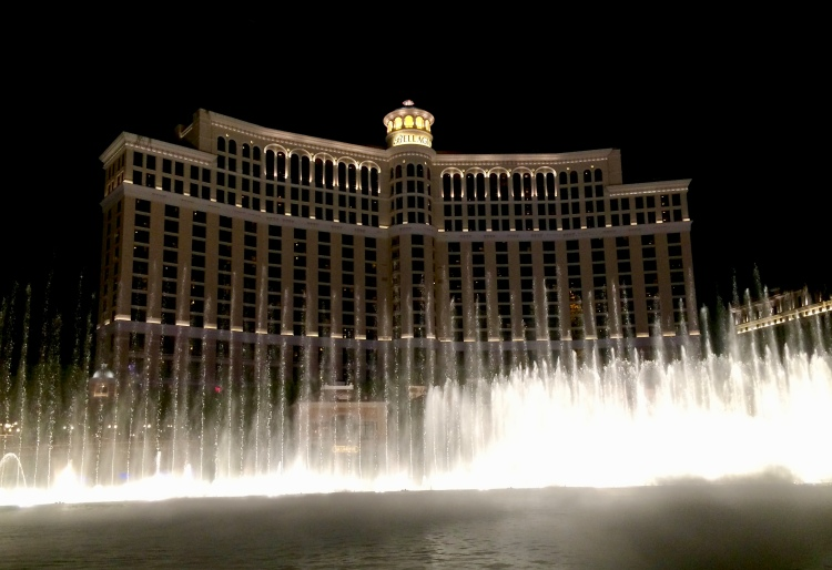 Why I Go To Vegas Every Year For My Birthday   Cathedrals and Cafes Blog   Bellagio Fountains