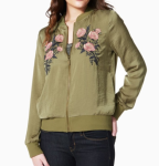Embroidered Bomber