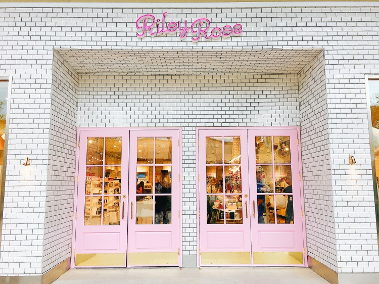 Pink Doors at Riley Rose Opening San Antonio Texas with Cathedrals and Cafes Blog
