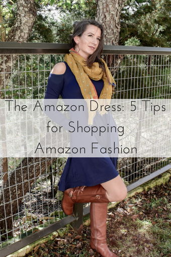5 Tips For Shopping Amazon Fashion _ Cathedrals and Cafes Blog _ Style Blogger _ Fashion _ Outfits _ Dresses _ Fall Style _ Women's Clothing