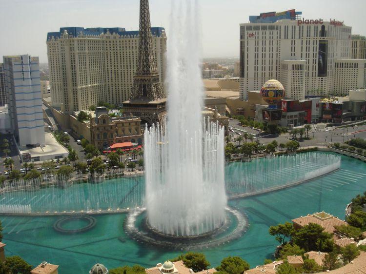 Fountains of Lake Bellagio Las Vegas