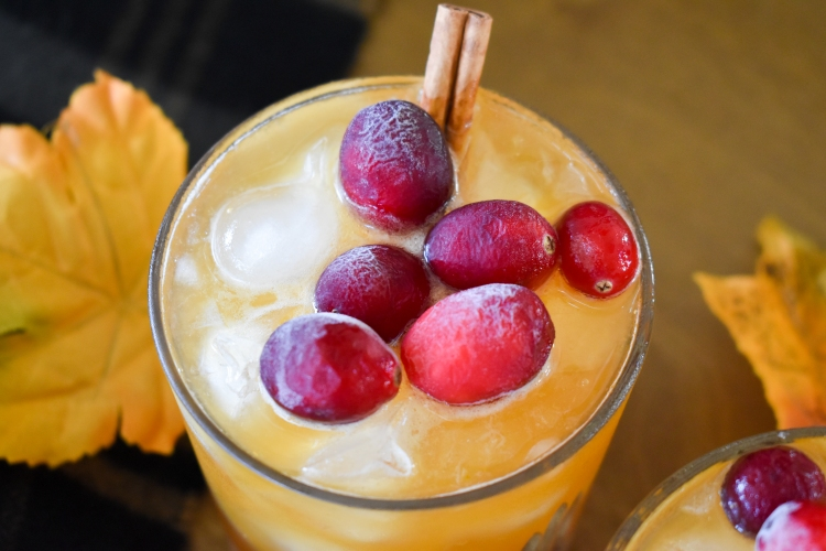 Bountiful Boilermaker Cocktail Recipe   Thanksgiving Recipes   Fall Cocktails   Cathedrals and Cafes Blog