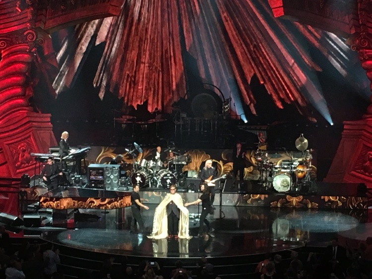 Elton John Performs in Vegas | Cathedrals and Cafes Blog