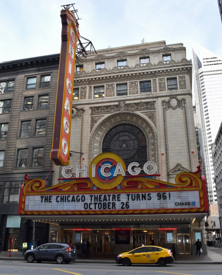 Architectural Tour of Chicago| Chicago Theater | Cathedrals and Cafes Blog