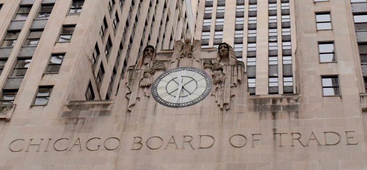 Architectural Tour of Chicago| Chicago Board of Trade Building Clock | Cathedrals and Cafes Blog