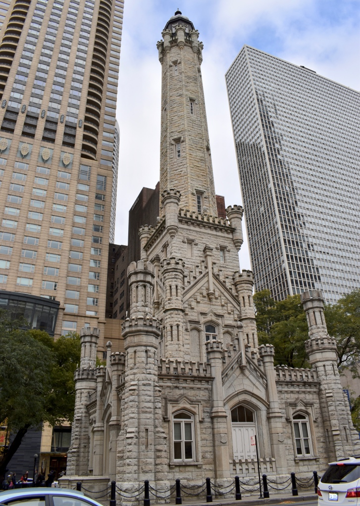 Architectural Tour of Chicago| Chicago Water Tower | Cathedrals and Cafes Blog