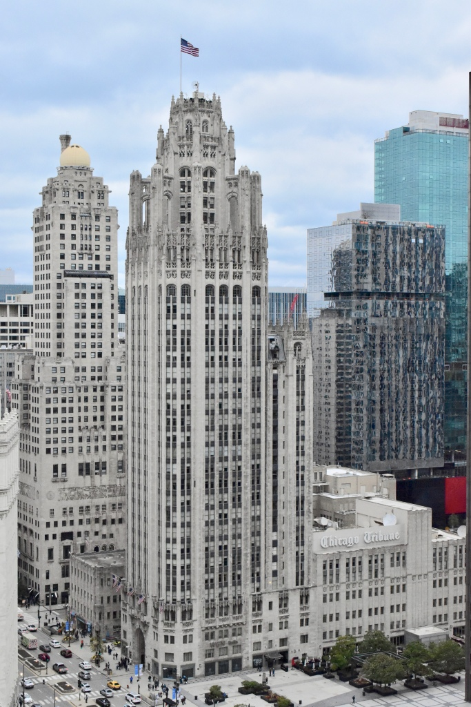 Architectural Tour of Chicago| Tribune Tower | Cathedrals and Cafes Blog