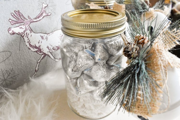 DIY Snowy Treat Jars | Cathedrals and Cafes
