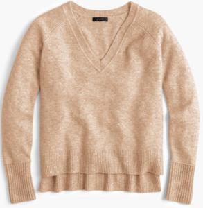 Wool Vneck Sweater
